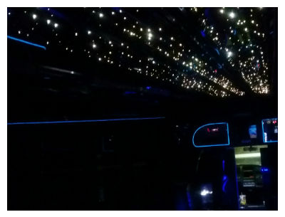 30 passenger epic party bus dual infinity led ceiling