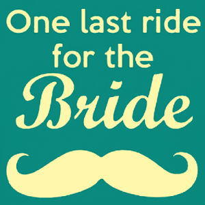 last ride for the bride