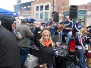detroit tailgating sports tigers